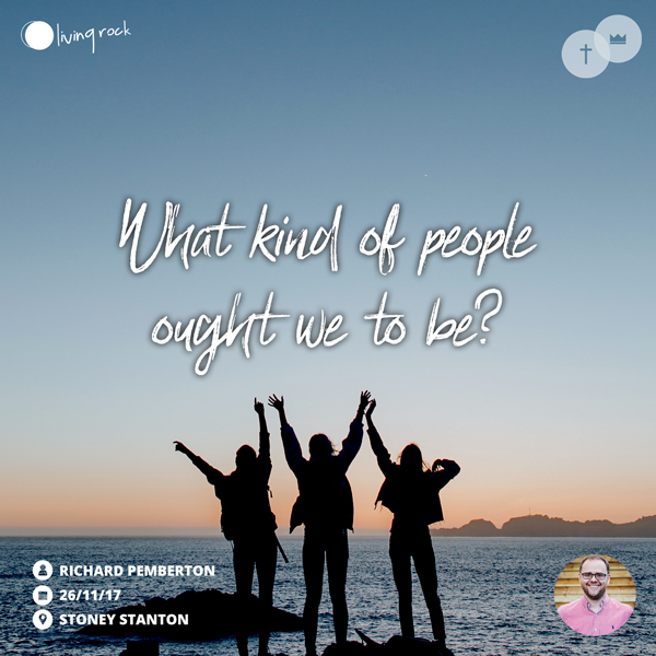 What Kind Of People Ought We To Be?